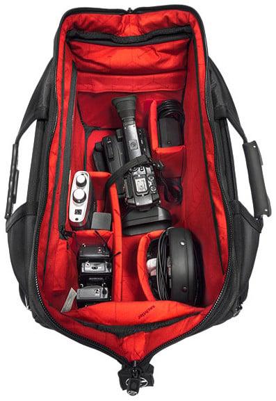 Standard Sachtler Doctor Camera Bag with Internal LED Lighting