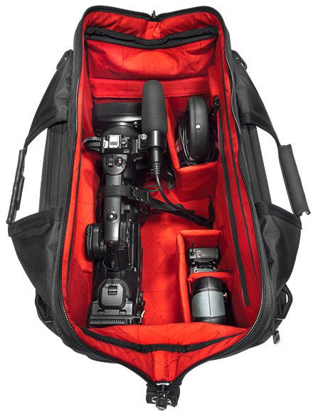 Large Sachtler Doctor Camera Bag with Internal LED Lighting