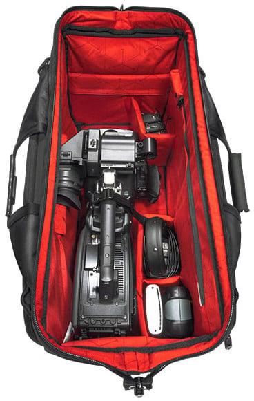Sachtler Dr. Bag – 5 Extra Large Sachtler Doctor Camera Bag with Internal LED Lighting SC005