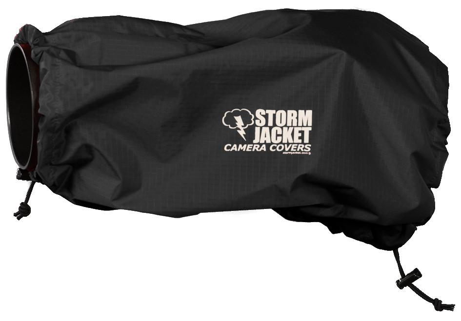 XL Standard Model Storm Jacket Cover in Black