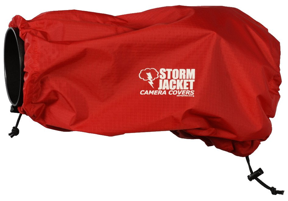 Small Standard Model Storm Jacket Cover in Red