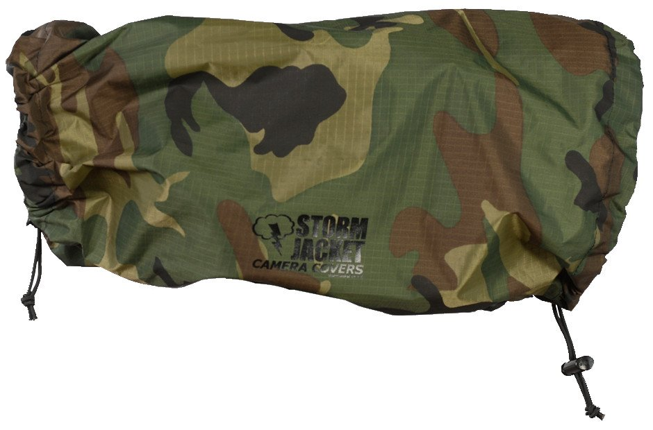 Medium Standard Model Storm Jacket Cover in Camouflage