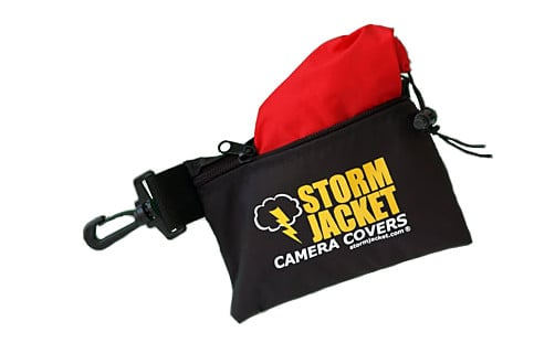 Small Standard Model Storm Jacket Cover in Black