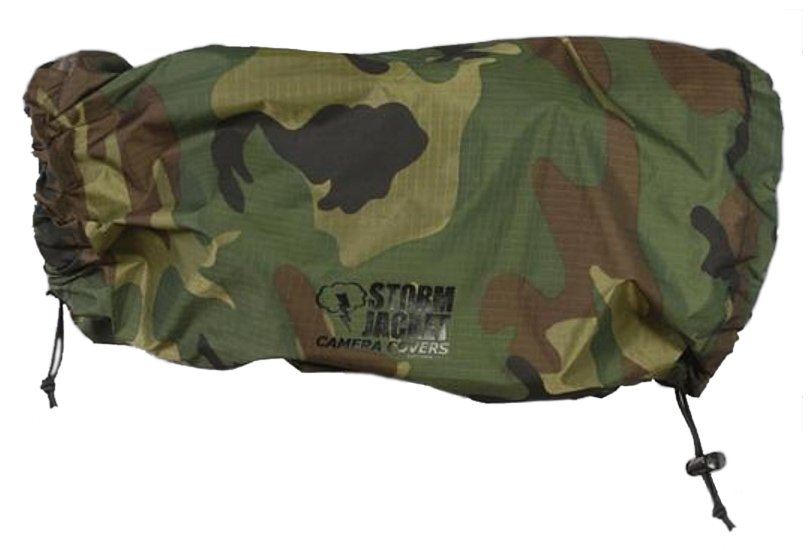 Vortex Media P-SJ-L-C Large Pro Storm Jacket for SLR in Camo P-SJ-L-C