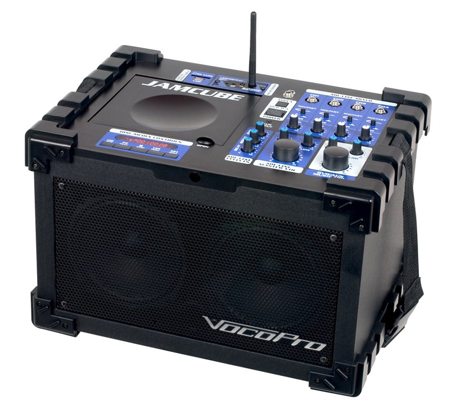 100 Watt All-In-One Compact PA System with Bluetooth Receiver and CD/MP3 Playback
