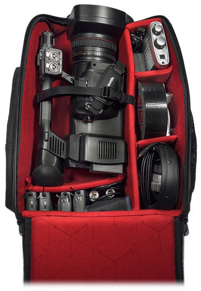 Video Camera Backpack with Wheels and Trolley