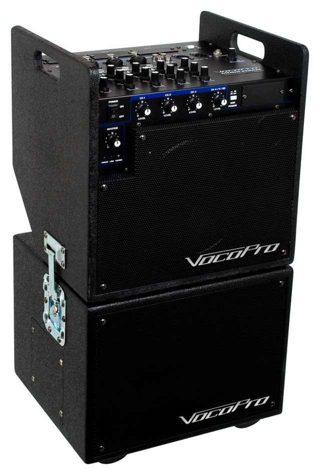 80 Watt Portable Battery Powered PA System with Subwoofer
