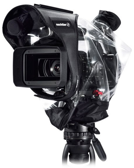 Transparent Raincover for Small Video Cameras