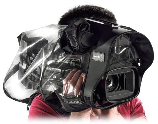 Transparent Raincover for Medium-Size Video Cameras