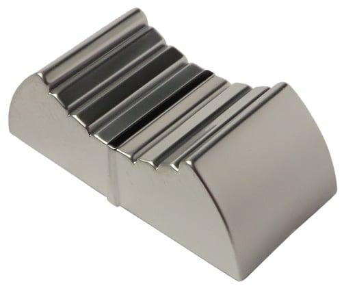 Silver Fader Knob for MCU DAW/NLE