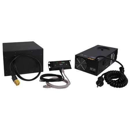 300W Medical-Grade Mobile Power Retrofit Kit with 36 Amp-hour Battery and 3 Outlets