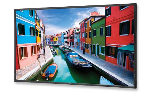"""46"""" LED Backlit Commercial-Grade Display with Integrated Speakers"""