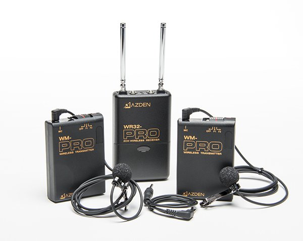 PRO Series 2-Channel VHF Wireless Microphone System for DSLR