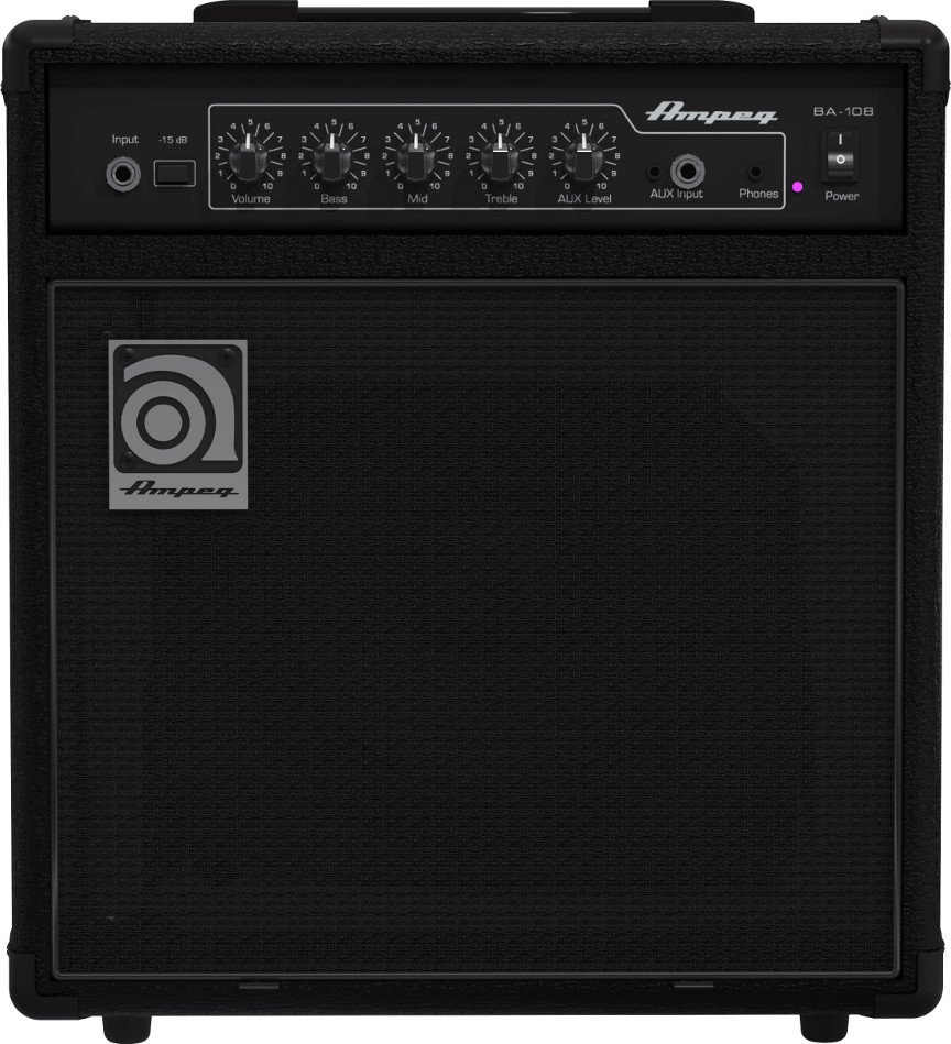 "1x8"" 15W Bass Combo Amplifier"