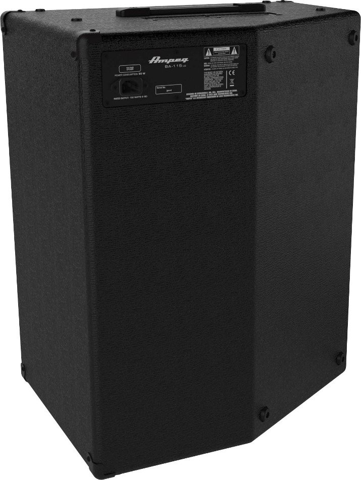 """Ampeg BA-115 150W 1x15"""" Bass Combo Amplifier BA-115"""
