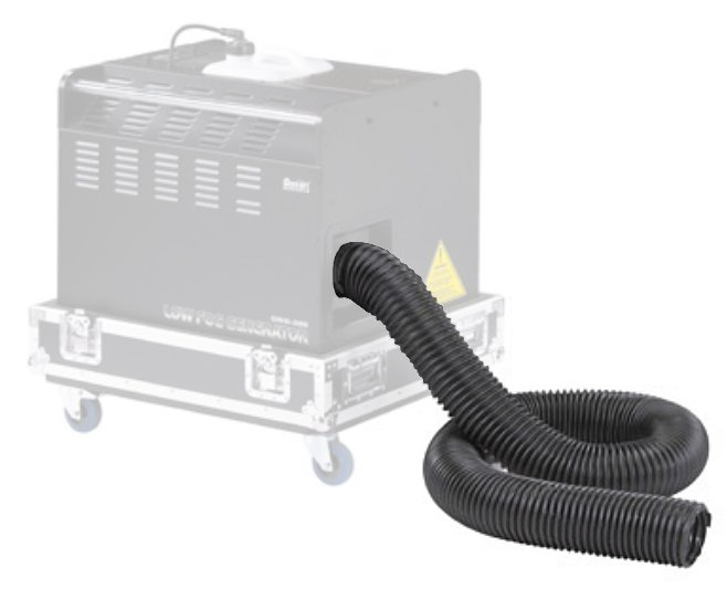 Vinyl Fog Conducting Hose for DNG-200 Low Fog Machine