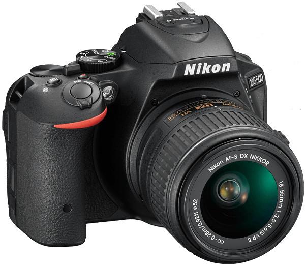 24.2MP D5500 DSLR Camera in Black with NIKKOR 18-140mm VR Lens