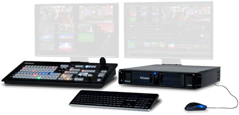 4 M/R Production Switcher with Control Surface