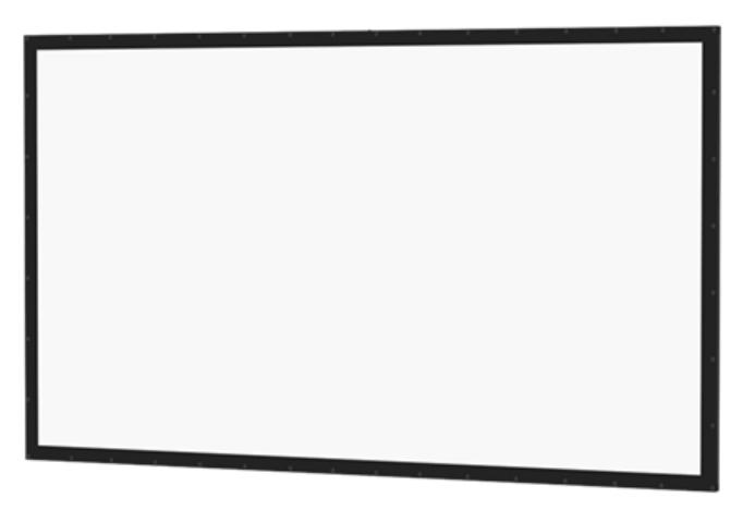 "159"" HDTV Perm-Wall Fixed Frame Screen with Da-Tex Surface"