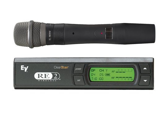 UHF Wireless Handheld Microphone System with N/D 767a Supercardioid Capsule