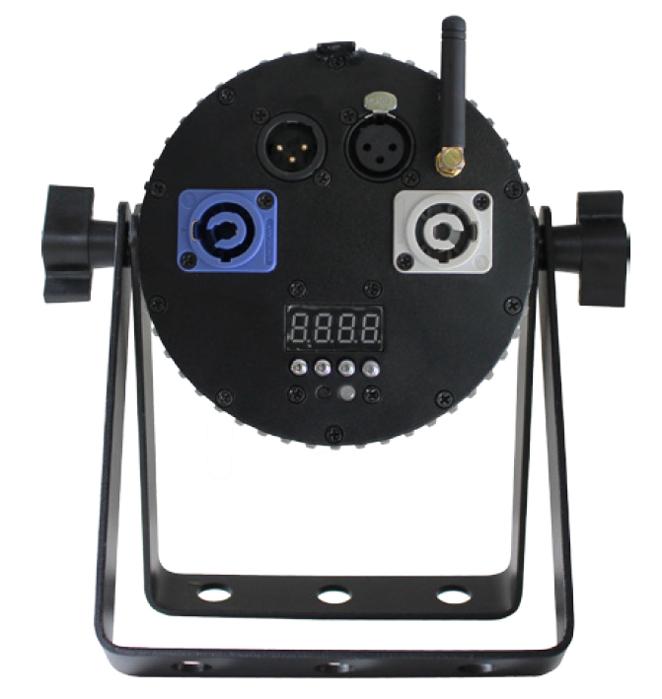 3x15W 6-in-1 RGBAW+UV Mini LED Par