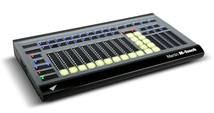 Portable DMX Control Surface