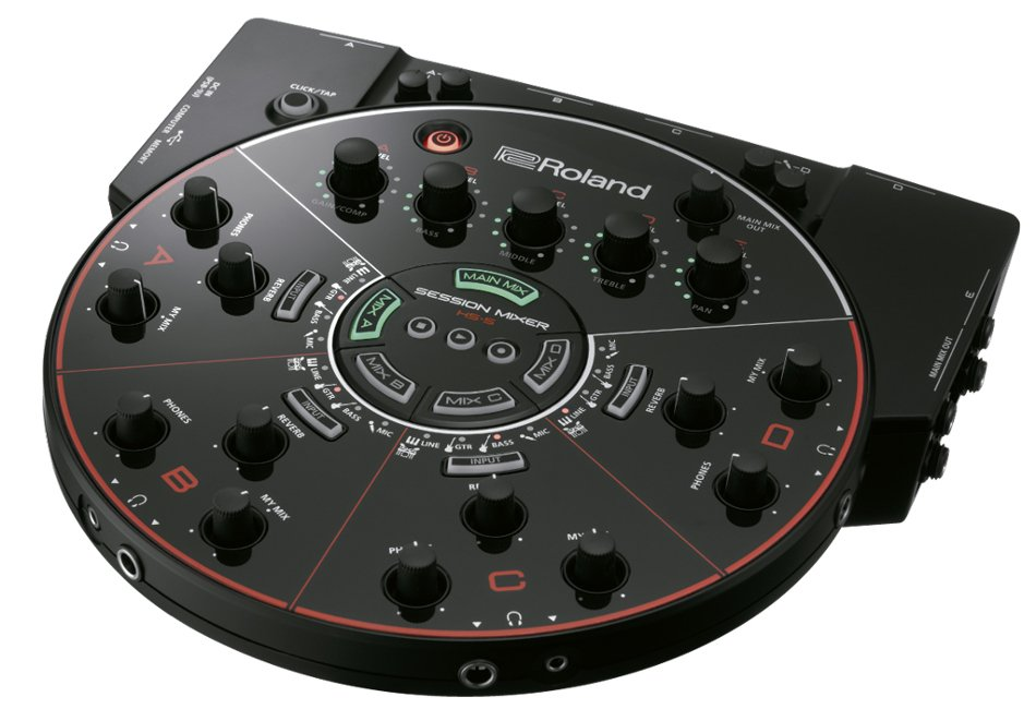 4-Channel Rehearsal and Recording Mixer for Ensembles