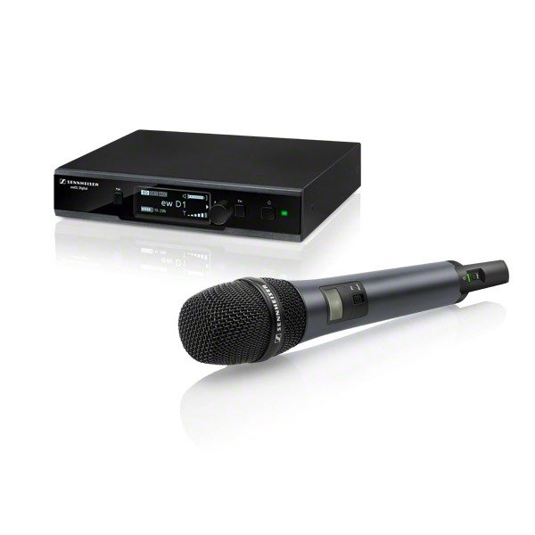 Evolution Wireless D1 Series Digital Handheld Microphone System with e845 Capsule