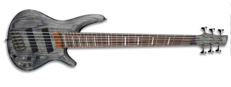 Black Stain Bass Workshop Series 6-String Electric Bass