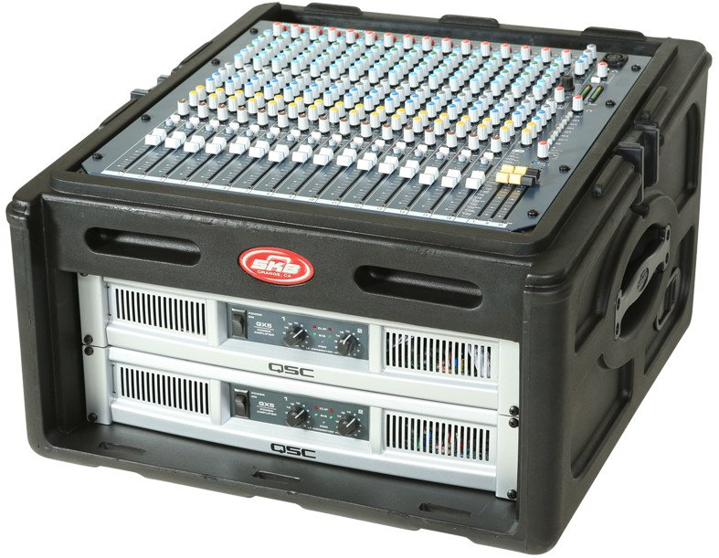 10U x 4U Audio and DJ Rack Case