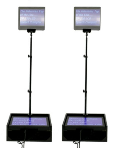 "15"" Speech Series Prompter Package"