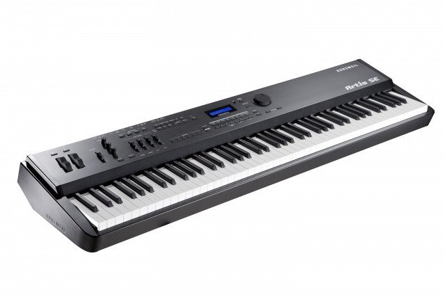 88-Key Stage Piano in Black