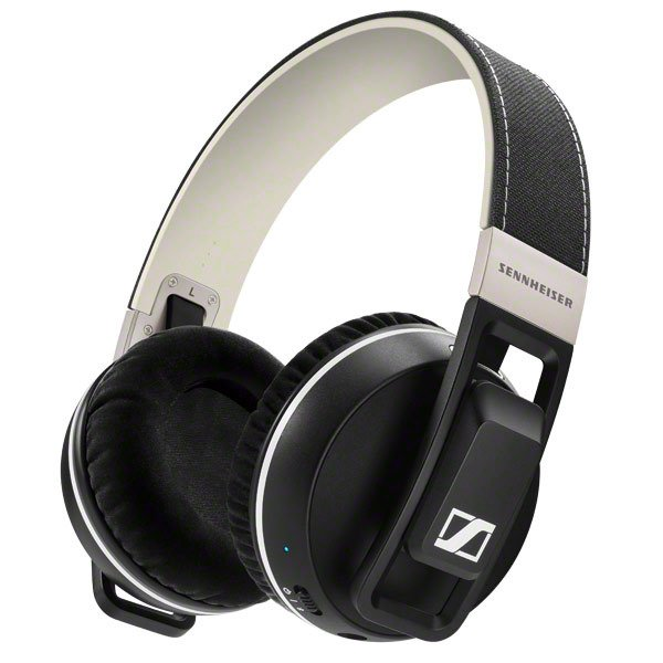 Over-Ear NFC Bluetooth Headphones in Black with Touch Control Panel