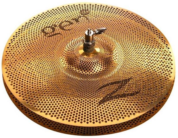 zildjian g1613ht low volume cymbal w o pickup buffed bronze finish full compass systems. Black Bedroom Furniture Sets. Home Design Ideas