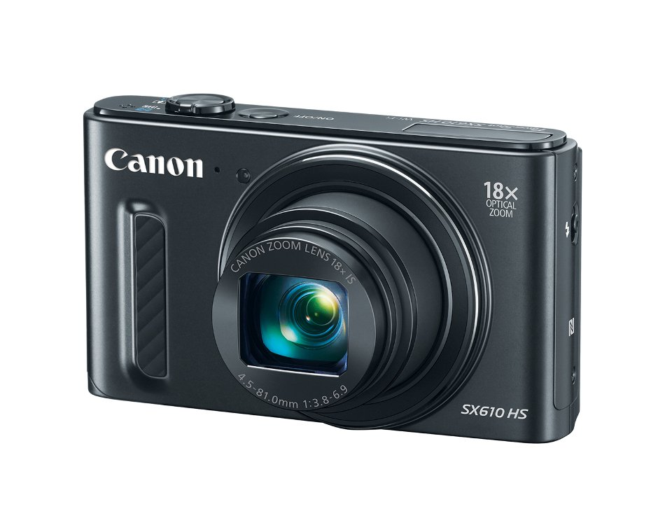 "20.2MP Digital Camera with 18x Optical Zoom and 3"" LCD Screen, in Black"