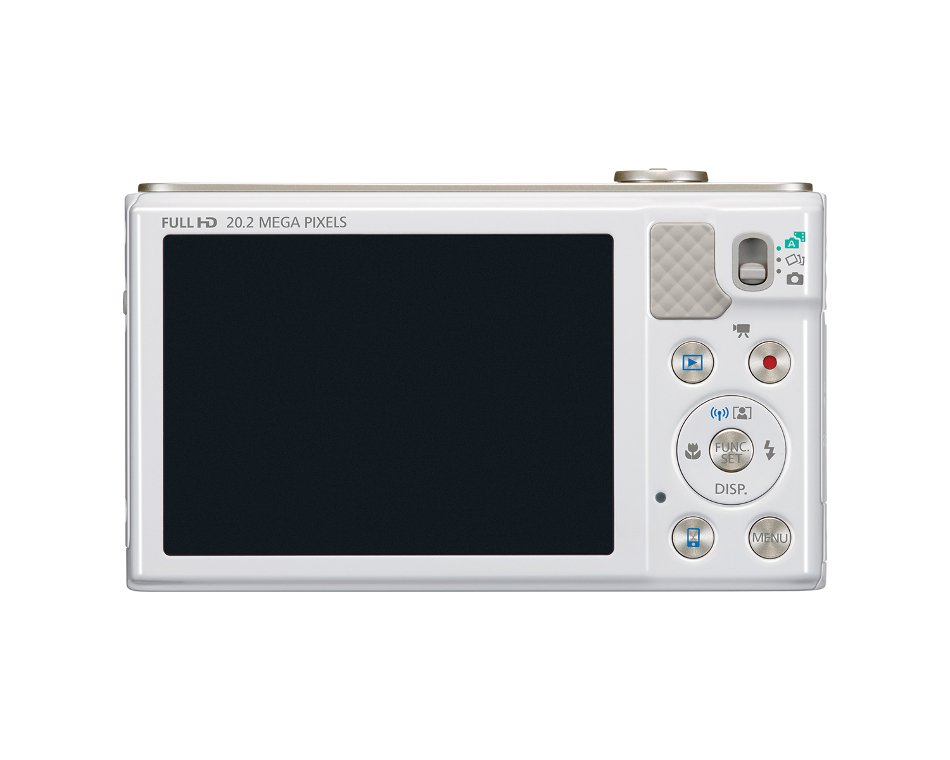 "20.2MP Digital Camera with 18x Optical Zoom and 3"" LCD Screen, in White"