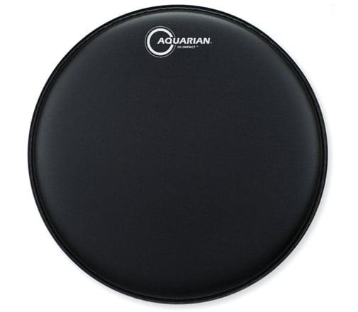 "14"" Hi-Impact Snare Drum Batter Head in Black"