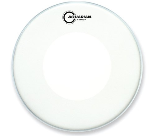"14"" Hi-Impact Snare Drum Batter Head in White"
