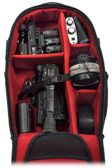 Air-Flow Camera Back-Pack