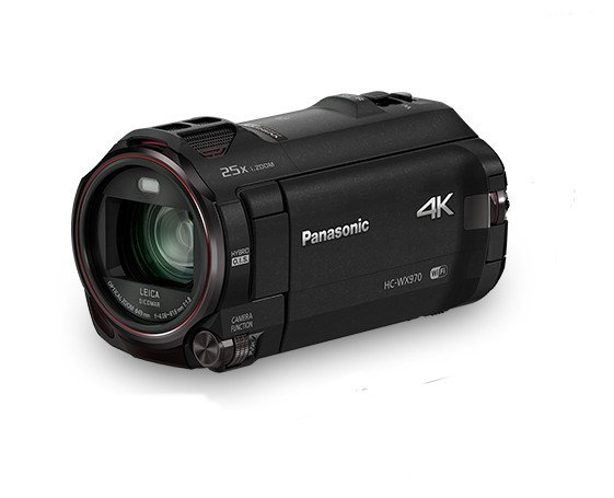 4K Ultra HD Camcorder with Onboard Twin Video Camera