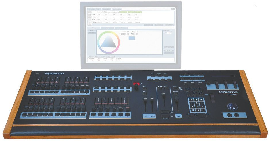 6 Playback, 24-Fader Lighting Console
