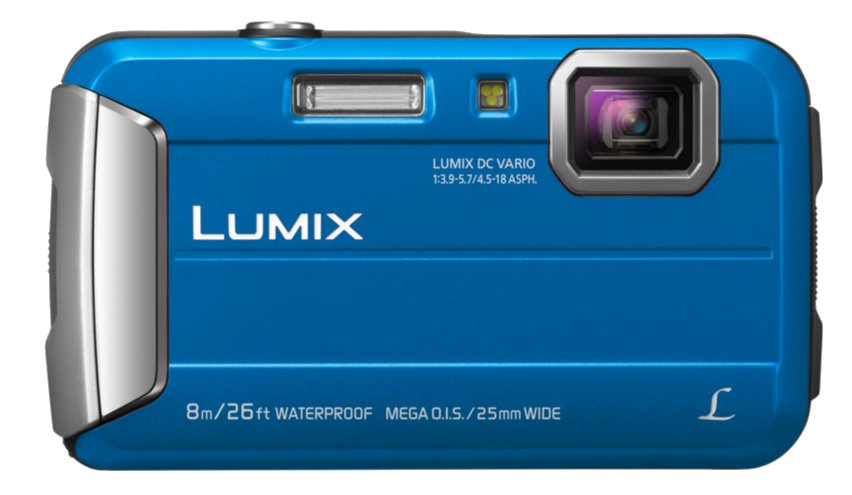 16.1MP 4x Optical Zoom LUMIX  Active Lifestyle Tough Camera in Blue