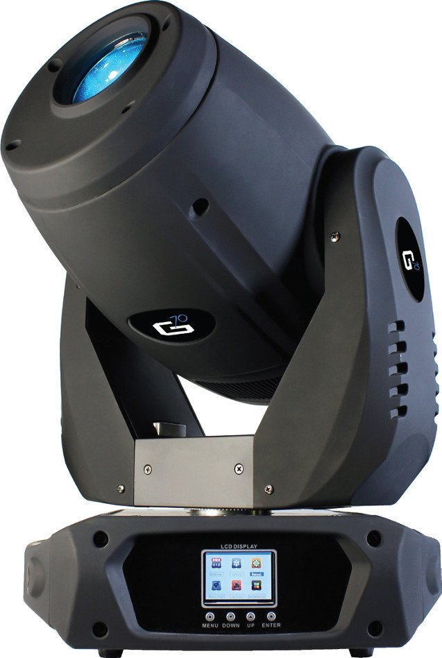 7x 10W Intelligent LED Moving Head Spot Fixture