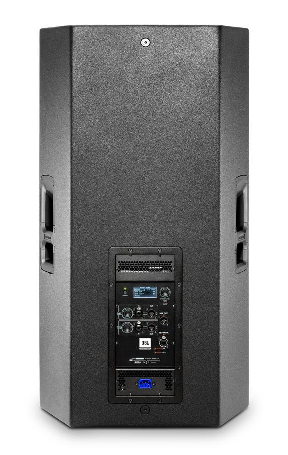 """15"""" 3-Way Powered Speaker with 2000W Peak Crown Amplifier"""