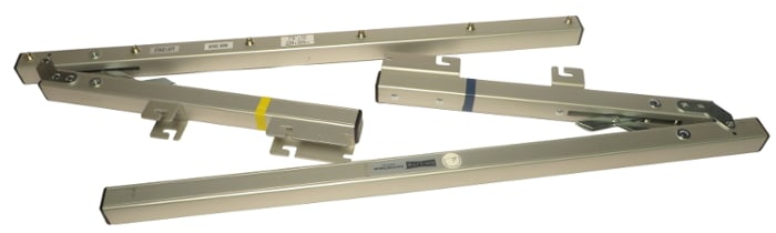 Da-Lite 89217 Wing Bar for Fast-Fold Deluxe (Pair) 89217