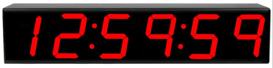 TecNec ES-976 Time Code Remote Display,Red ESE-ES-976