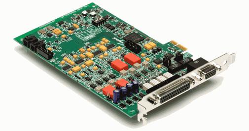 4x4x4 AD/DA PCI Express Interface Card