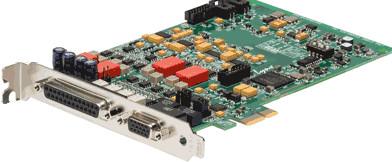 2x2x2 AD/DA PCI Express Interface Card