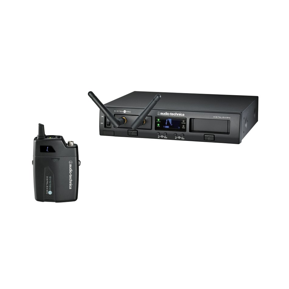 System 10 PRO Rackmount Digital Wireless Bodypack System with ATW-T1001 Bodypack Transmitter