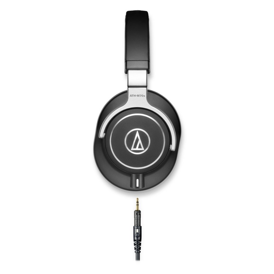 M Series Closed-Back Over-Ear Headphones wtih 45mm Drivers and Detachable Cable